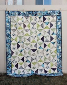 Hourglass Quilt Tutorial | Southern Fabric