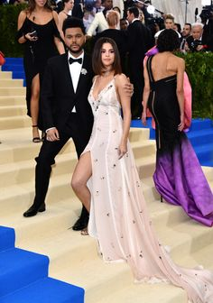 fuckyeahselenita: Selena Gomez and The Weeknd attend the 2017