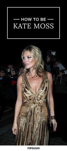 Inspiration from the great Kate Moss