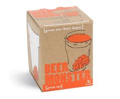 Grow Me Bier Monster - Hopfen Samen