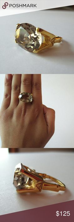 Vendome Vintage Adjustable Ring I wear a size 6 on my middle finger and this fits just fine. Can adjust and fit up to a size 8. Great vintage piece. Vendome Jewelry Rings