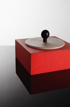 Ettore Sottsass. The best. KAGADATO selection. **************************************Rosalia (Secret Box)  Ettore Sottsass