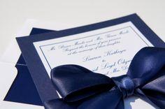 Classy Navy Satin Ribbon and Bow Elegant by dovetaildesignok, $3.00