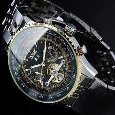 Men's Classy Automatic Tourbillon Watch