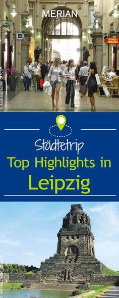Diese Sehenswürdigkeiten solltet ihr bei einem Städtetrip nach Leipzig nicht verpassen.