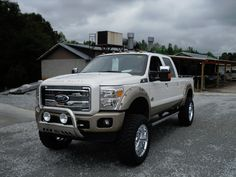 Rocky Ridge Ford Trucks, the purchase when I hit the lottery :) Ford Pickup Trucks, Car Ford, Lifted Trucks, Cool Trucks, Big Trucks, Ford F Series, Ford Super Duty, Diesel Trucks, Custom Trucks