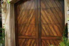 Faux Garage Doors, can't wait to start new project