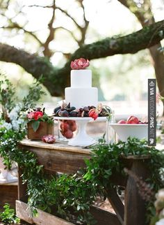Cool - Low Country Wedding Inspiration Cake Table with figgs and pomegrenate   CHECK OUT MORE IDEAS AT WEDDINGPINS.NET   #weddings #rustic #rusticwedding #rusticweddings #weddingplanning #coolideas #events #forweddings #vintage #romance #beauty #planners #weddingdecor #vintagewedding #eventplanners #weddingornaments #weddingcake #brides #grooms #weddinginvitations