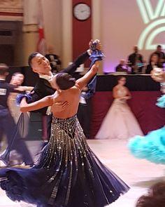 Victor Fung and Anastasia Muravyeva - Blackpool champions 2017