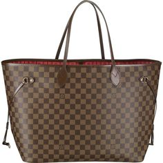 Louis Vuitton Neverfull GM Damier Ebene Canvas N51106