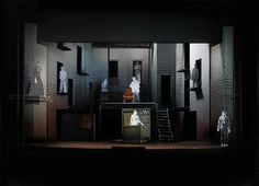 Cool set design for Sweeney Todd