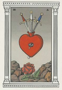 three of swords thoth - Google Search