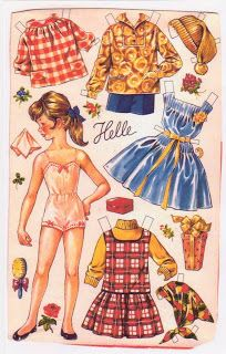 Kathleen Taylor's Dakota Dreams: Thursday Tab- Ulla Pihl Dolls from Danish OTA Boxes- Part 1