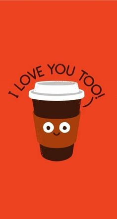 I love you too - Funny Cartoon iPhone wallpapers @mobile9