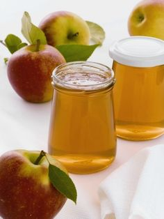 Apple Jelly, Apple Jam, Chutneys, Healthy Eating Tips, Healthy Nutrition, Fruit Confit, Jam And Jelly, Vegetable Drinks, Food Menu