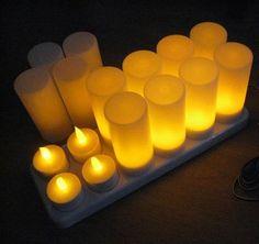 Beautiful Battery Operated Led Tea Lights