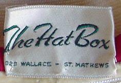 The Hat Box - 1950s