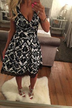 Wantthattrend - Narcia Skater Dress, £22.95 (http://wantthattrend.com/narcia-skater-dress/)