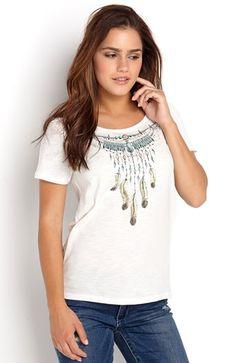 Super lækre ONLY Bluse Necklace Offwhite fra Halens ONLY Overdele til Dame i lækker kvalitet