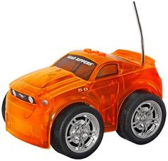 Toystate Road Rippers Light and Sound Blaze Craze R/C: Mustang by Toystate. $15.99. From the Manufacturer                New from Road Rippers, the industry leading maker of action packed lights and sounds cars and trucks comes the Ford Mustang Blaze Craze R/C .Unleash a blazing light show. Blaze Craze R/C has the coolest spinning light show visible through its translucent body with the added fun of full-function R/C control. There are two ways to play, for double...