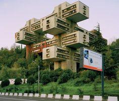 Jenga-Turm, Tiflis