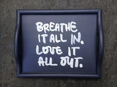 SOLD but can be made to order  Breathe It All by BelleMaisonMarket