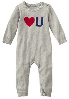 adorable love you onesie http://rstyle.me/~1NQ78