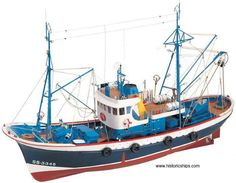 Marina II - Model Ship Kit Of The Marina II by Artesania Latina