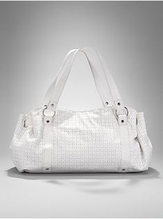 New York and Co. white purse