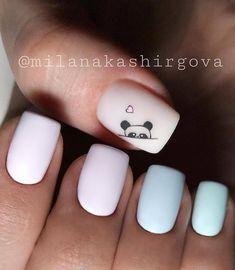@milanakashirgova . . . . . ●○●○● #красивыеногти #дизайнногтей #идеальныеблики #идеальныйманикюр #маникюр #ногти #мастерманикюра… Stylish Nails, Trendy Nails, Cute Nails, My Nails, Summer Acrylic Nails, Best Acrylic Nails, Nail Drawing, Work Nails, Square Nail Designs