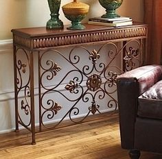 wrought iron cabinets - Google Search