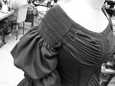 smocking- simply magnificent!  Absolutely love this!