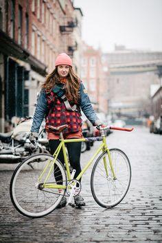 Fixie Girl - Urban Style