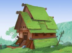 House concept by Mirchaz on deviantART via PinCG.com