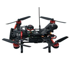 """Drone"" racing is the latest trend sweeping the world, and the Walkera Runner 250 R Advance is leading the way! The carbon fiber, modular design makes this model light, durable, and easy to work on. T"