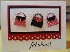 rachnsarahsmom used the SU cupcake punch to create a purse.