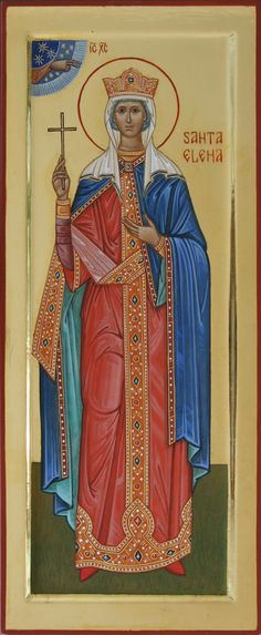 Santa Elena imperatrice (Saint Helena the Empress) - icona di misura, 2011