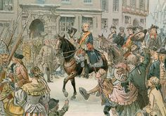 Frederick the Great (1712-1786) capturing the city of Wroclaw in 1741. Illustration from House of Hohenzollern in Pictures and Words by Carl Rohling and Richard Sternfeld. Published by Martin Oldenbourg in Berlin, c 1900.