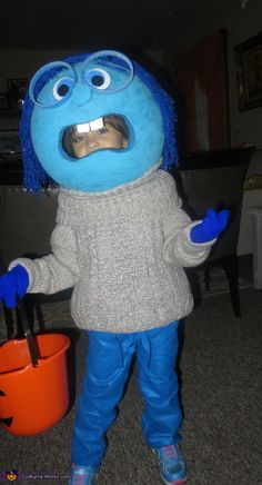 Sadness+Costume+-+Halloween+Costume+Contest+via+@costume_works