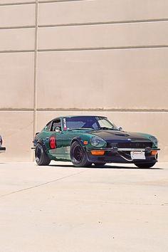 David Gonzalez's 1974 Datsun 260Z. http://www.powerofthedragon.com/david-gonzalez #blackdragonauto #powerofthedragon #datsun #nissan #datsun260z #260z