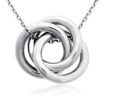 Infinity Love Knot Pendant (love the 3 links, reminds me of my 2 babies & my husband)