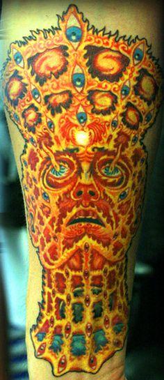"Alex Gray's ""Oversoul"" done by Devin Cardosi (Bridgeport Tattoo Company - Chicago, IL)"