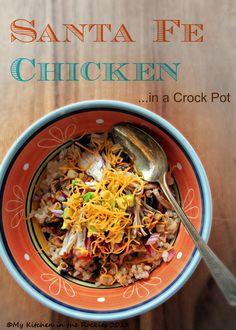 Crock Pot Santa Fe Chicken