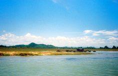 ทะเลสาบสงขลา ตอนกลาง จ.พัทลุง Songkhla Lake  #Olympus #OlympusTrip35 #Kodak #ColorPlus #200iso #200 #Analog #FilmCamera #AnalogPhotography @Korapin Lingba