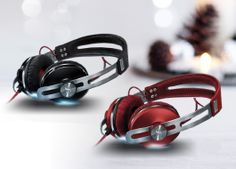 My favourite headphones! Why? because they sound so beautiful - strong bass with a really clear treble that makes your music alive! PLUS Beautiful retro looks and great built quality! Sennheiser Momentum on Ear Headphones