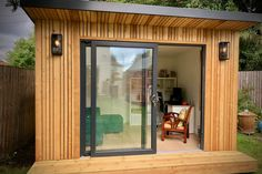 Our garden rooms come in three room types: Uno, Duo and Duo+. Explore our case studies here to find out which garden room could work best for you. Garden Home Office, Summer House Garden, Backyard Office, Backyard House, Shed Design, House Design, Patio Design, Insulated Garden Room, Garden Shed Interiors