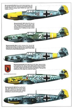 Bf 109 F, F1, F2, F4 and F4 Trop variants (8) | GLORY. The largest archive of german WWII images | Flickr