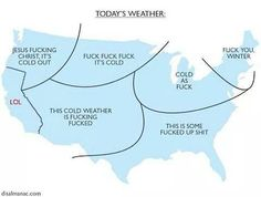 Lol todays forecast ; )