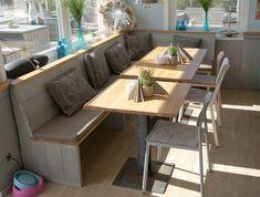 Sitzbank / Eckbank aus Holz, Gastronomie Einrichtung