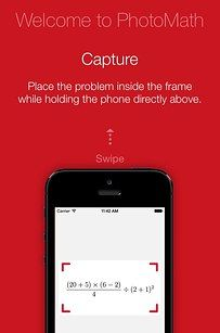 PhotoMath | 11 Apps That Use Your Camera To Drastically Improve Your Life